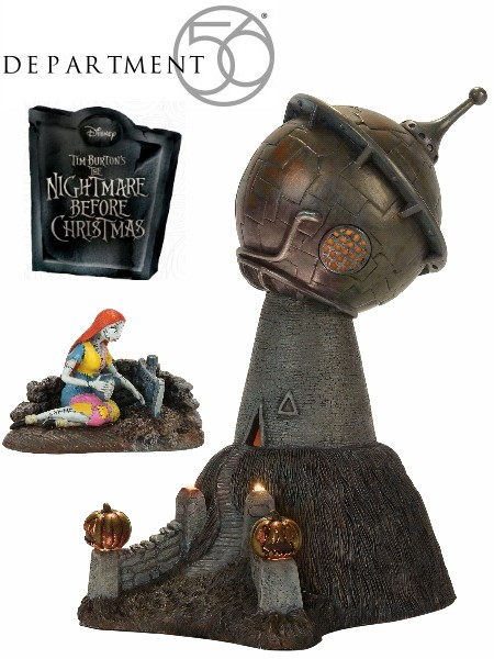 Department 56 Nightmare Before Christmas Finkelstein Observatory